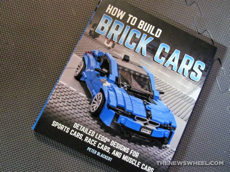 How to Build Brick Cars Motorbooks LEGO building book Peter Blackert review cover