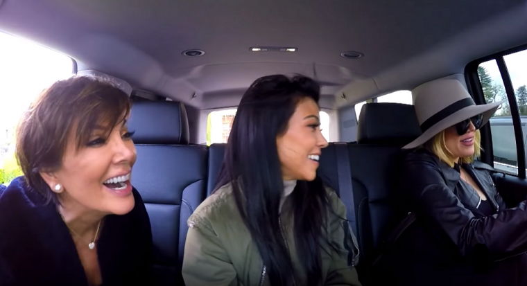 KUWTK Kardashian Car Moments Kris Drunk French Montana