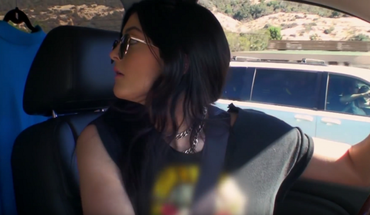 KUWTK Kardashian Car Moments Kylie Caitlyn Paparazzi
