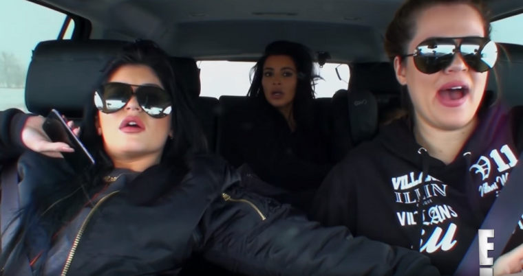 KUWTK Kardashian Car Moments Montana Crash