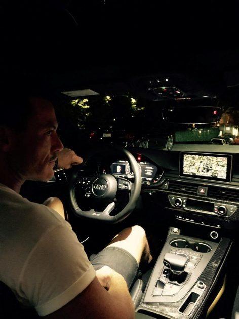 Luke Evans Audi