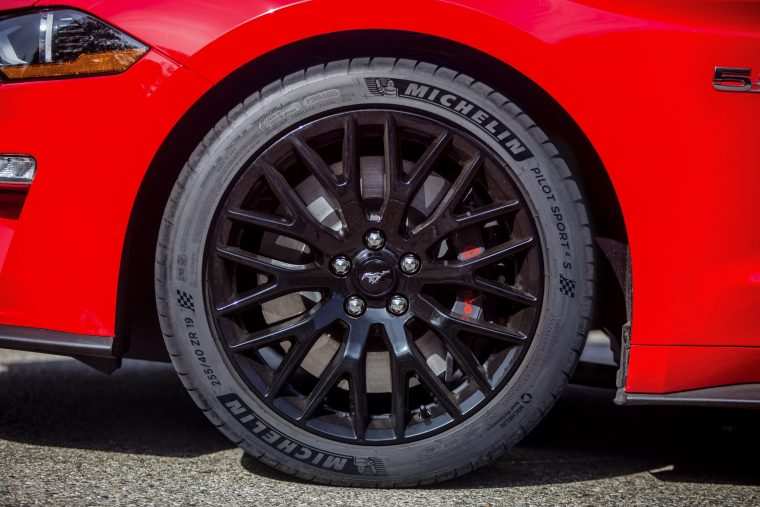 2018 Ford Mustang GT Michelin Tires