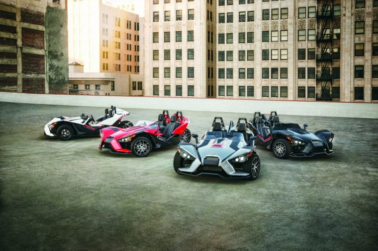 Polaris Slingshot Family