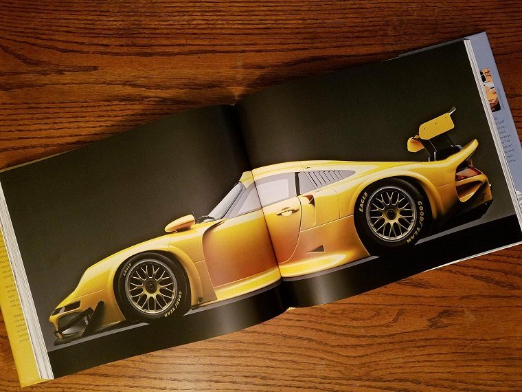 Porsche 70 Years Two-Page Photograph