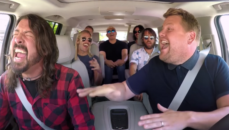 Carpool Karaoke - The Foo Fighters