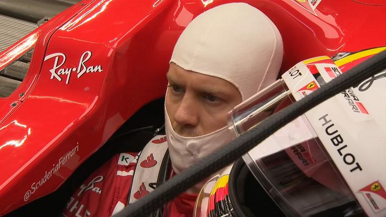 Vettel - 2017 US GP FP1