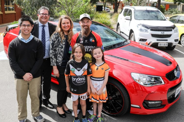 Holden teams with The Smith Family