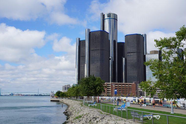 Detroit, Michigan GM Building