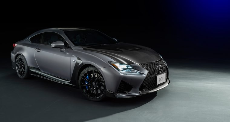 Lexus RC F limited edition tokyo motor show 2017