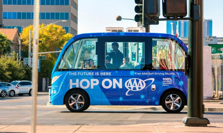 AAA Self-Driving Vegas Bus
