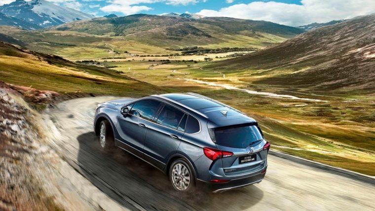 2018 Buick Envision China