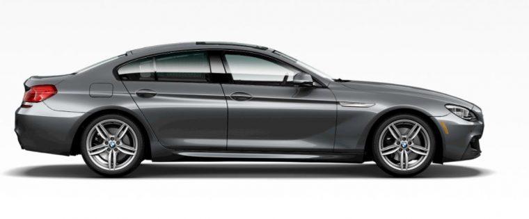 2018 BMW 6 Gran Coupe grey silver body color