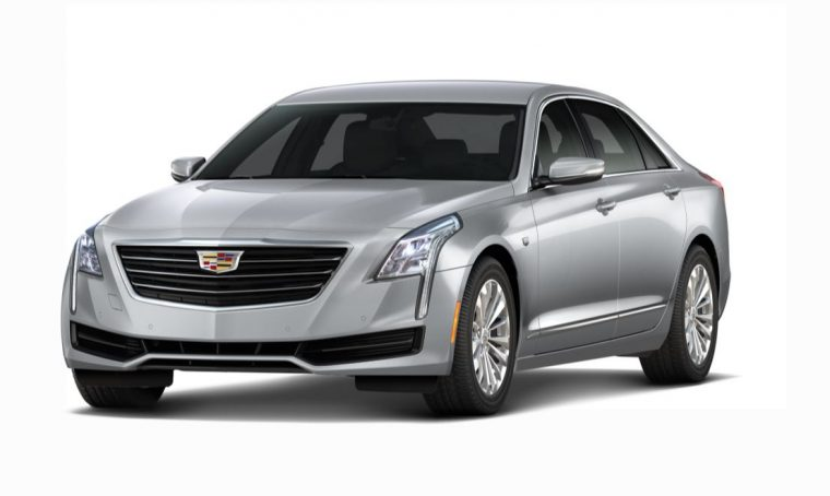 2018 Cadillac CT6 grey silver body color