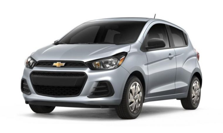 2018 Chevrolet Spark grey silver body color paint