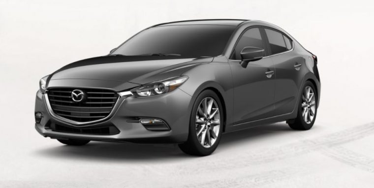 2018 Mazda3 grey metallic body color