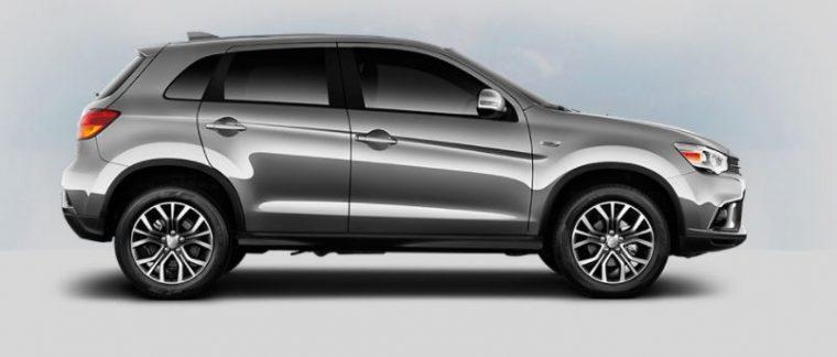 2018 Mitsubishi Outlander Sport gray metallic body color