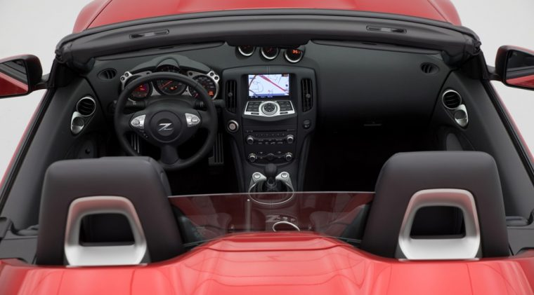 2018 Nisan 370Z roadster convertible overview details specs features trims front seats cabin