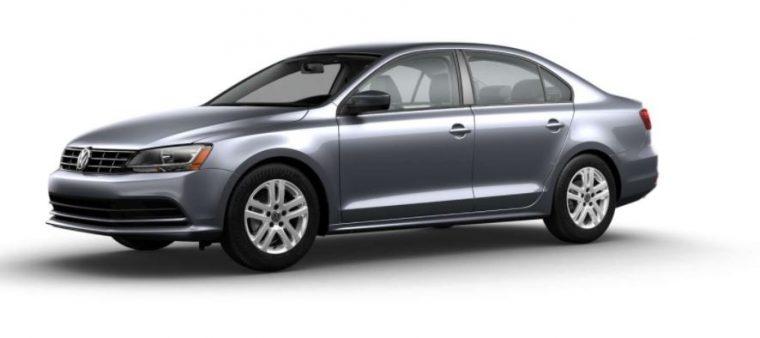 2018 VW Jetta Gray metallic body color