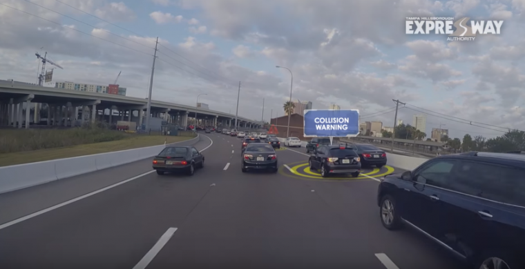 tampa connected vehicle pilot