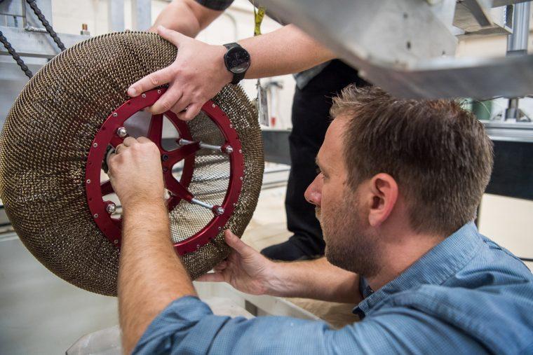 NASA Spring rover tires