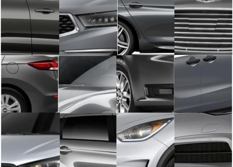 50 shades of grey cars silver gray metallic body color vehicles
