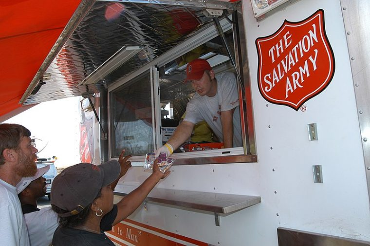The Salvation Army Food Truck