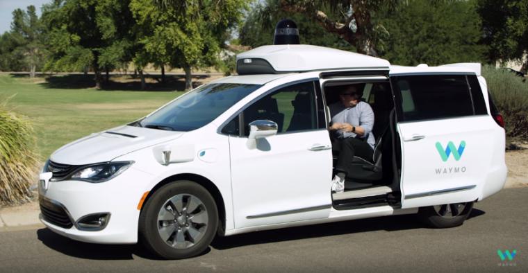 Waymo minivans 100% self-driving