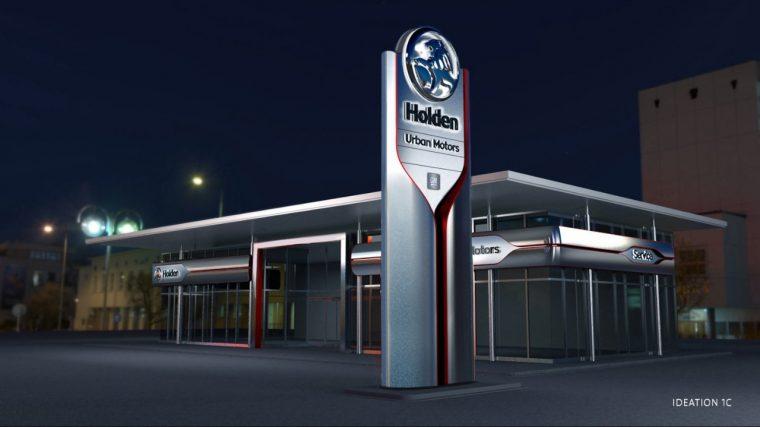 Holden dealership concept
