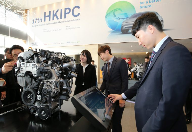 Hyundai future powertrain Smart Stream photo debut