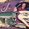 Jokermobile Joker DC comics batman villain car vehicle