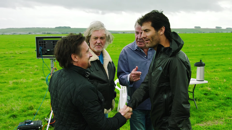 Mark Webber on The Grand Tour