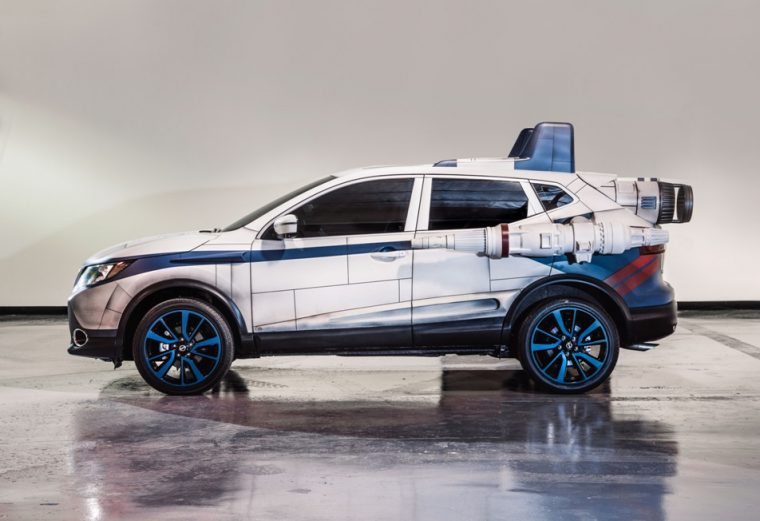 2018 Nissan Rogue Sport – A-wing