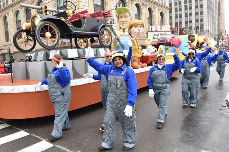Ford Float America's Thanksgiving Parade