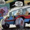 Spider-man Spider mobile car vehicle Marvel Comic book