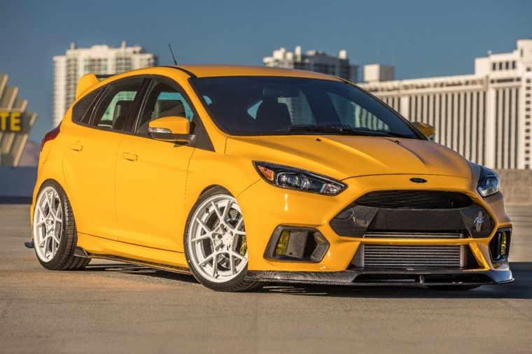 Universal Technical Institute's Ford Focus RS