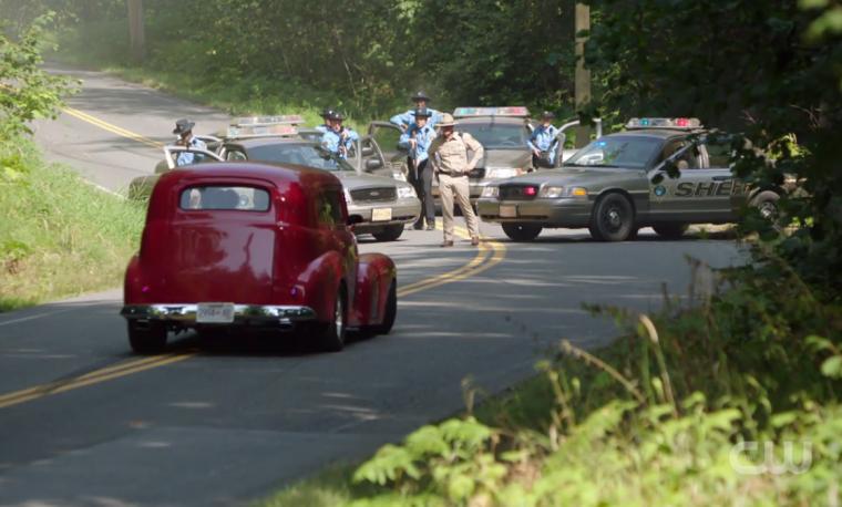cops ghoulies drag race riverdale