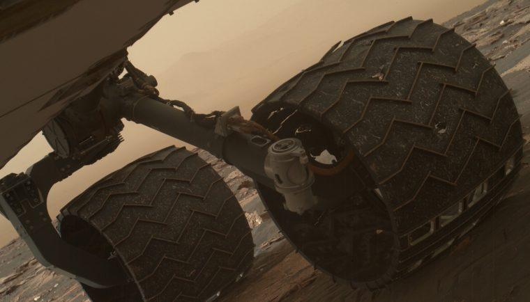 Curiosity Rover solid aluminum Wheel