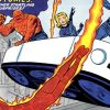 fantastic 4 original fantasticar flying bathtub vehicle car Marvel comics