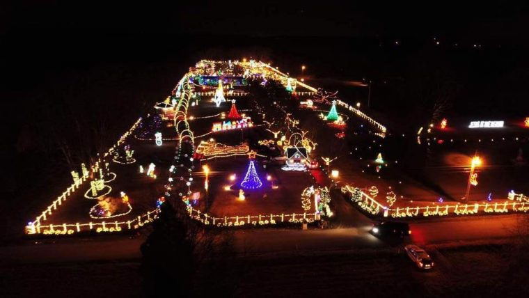 3 drive thru holiday light displays in tennessee