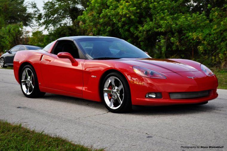 2006 Chevrolet C6 Corvette Z51 red
