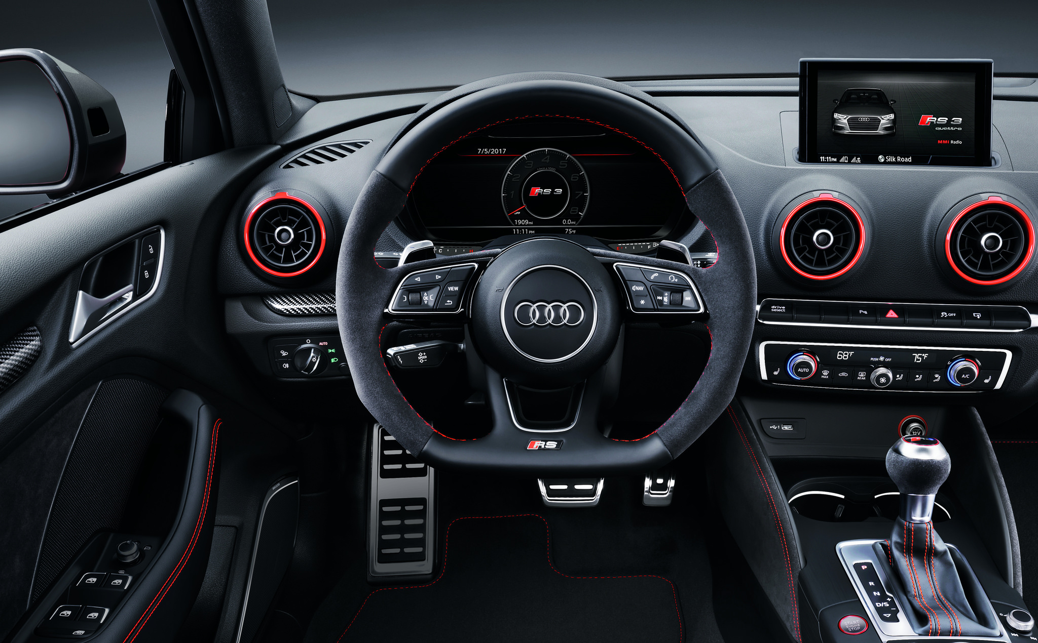 2018 Audi RS 3 Sedan Secures Spot on Car and Driver's ...