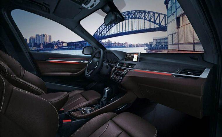2018 BMW X1 sDrive28i overview model specs details features car front seats leather trim