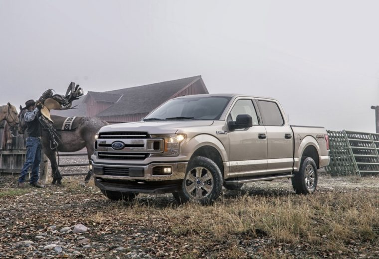 2018 Ford F-150 pickup truck overview specs details exterior body features