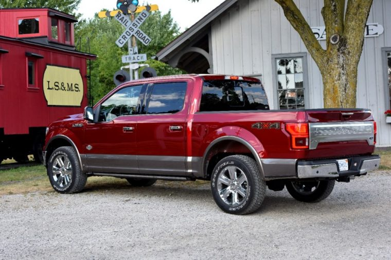 2018 Ford F-150 pickup truck overview specs details family travel features