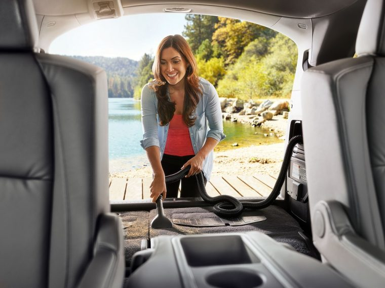 2018 Honda Odyssey Interior HondaVAC North American Utility Vehicle of the Year Finalist NACTOY
