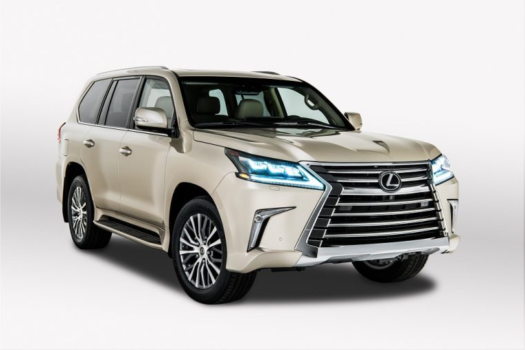 2018 Lexus LX two-row