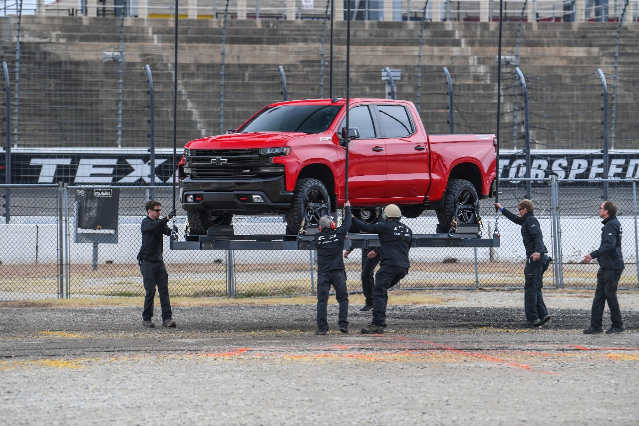 Chevy Surprises Truck Anniversary Guests With Reveal Of
