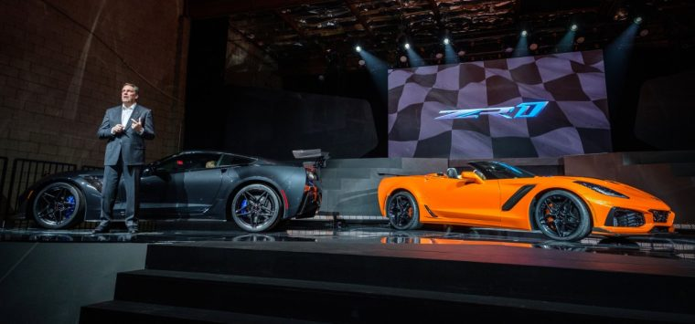 2019 Chevrolet Corvette ZR1 Coupe and Convertible
