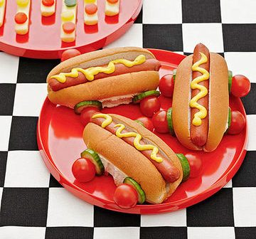 Hot Dog Racecars