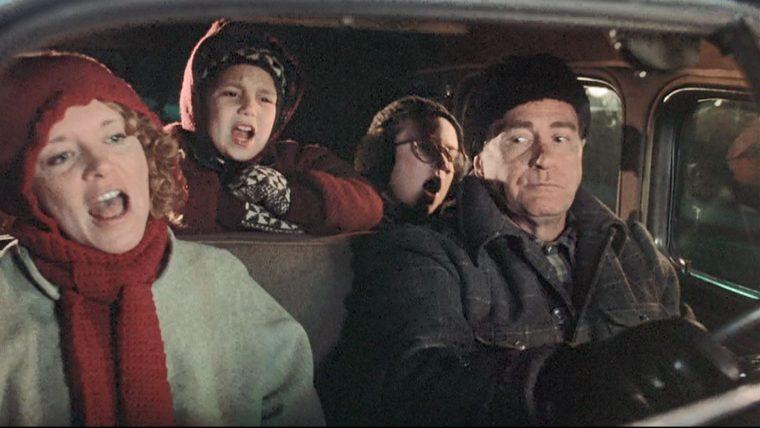 A Christmas Story Flat tire oldsmobile car oh fudge scene